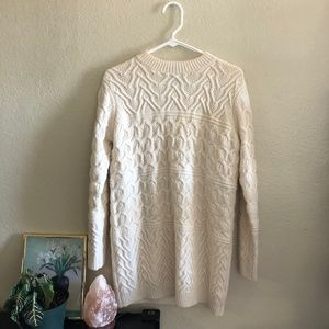 Forever 21 cable knit pullover. sweater dress